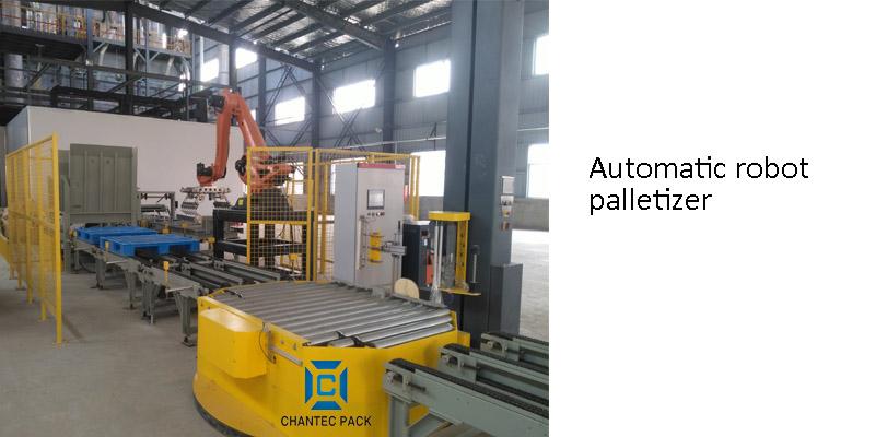 Automatic robot palletizer