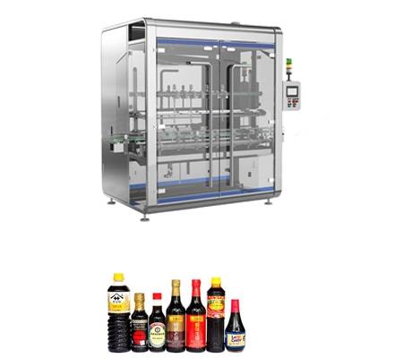 The paste liquid bottle filling machine