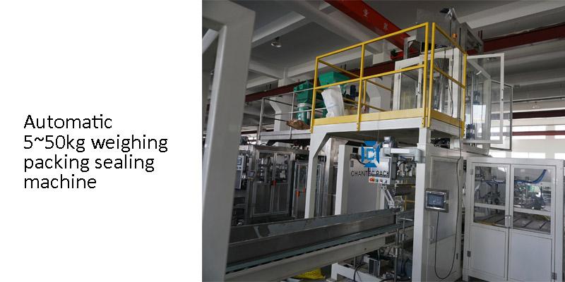 automatic 25kg sugar packing machine